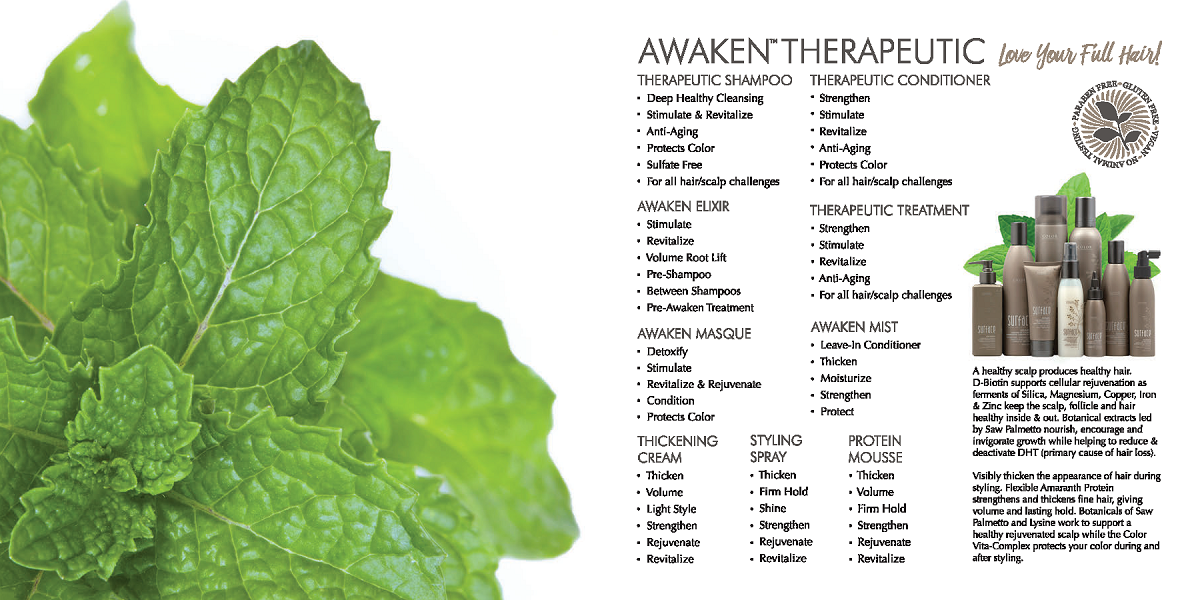 Surface Awaken Therapeutic Haircare Products